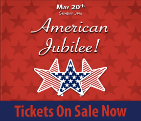 American Jubilee! Show Tickets On Sale Now