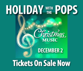 Holiday with The Pops Show on December 2