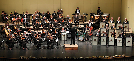 The California Pops Orchestra Performs with the Black Tie Jazz Band