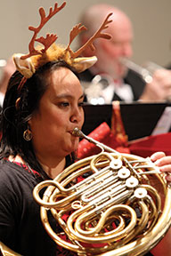 Hornist is Cathleen Torres